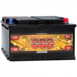 Акумулятор 555 100Ah R 880A