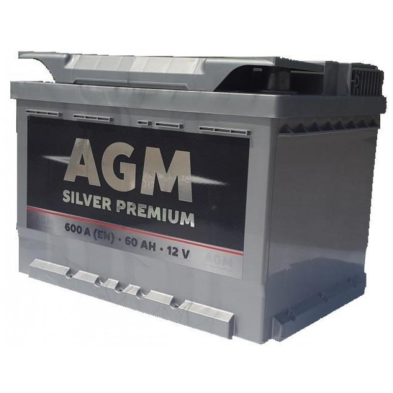 Акумулятор AGM 60Ah L 600A