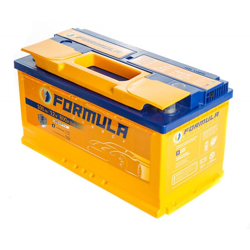 Акумулятор FORMULA 100Ah R 880A