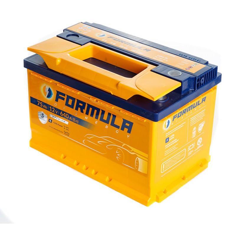 Акумулятор FORMULA ST 75Ah R 640A