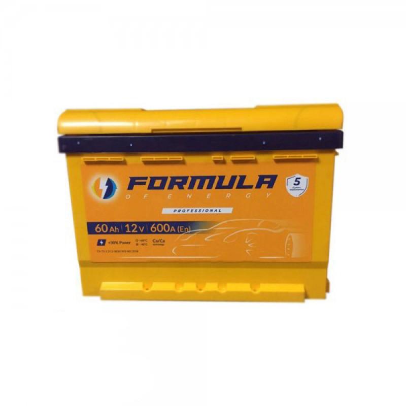 Акумулятор FORMULA ASIA 60Ah R 600A