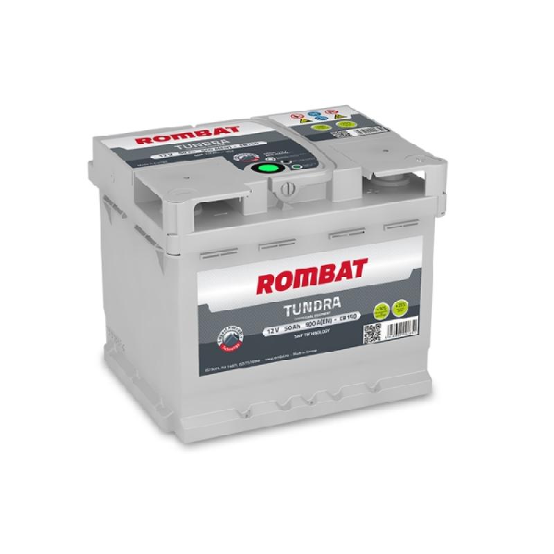 Акумулятор Rombat TUNDRA 50Ah R 500A