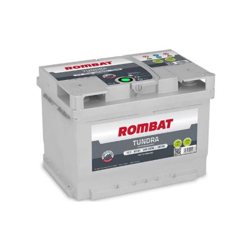 Акумулятор Rombat TUNDRA 60Ah L 580A