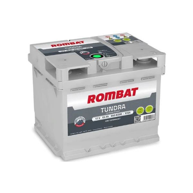 Акумулятор Rombat TUNDRA 65Ah R 640A
