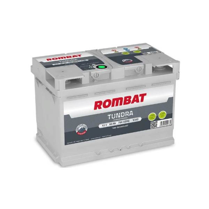 Акумулятор Rombat TUNDRA 80Ah R 750A