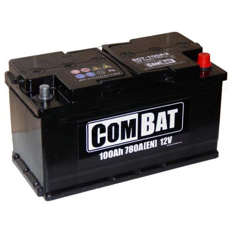 Акумулятор SADA COMBAT 100Ah R 800A