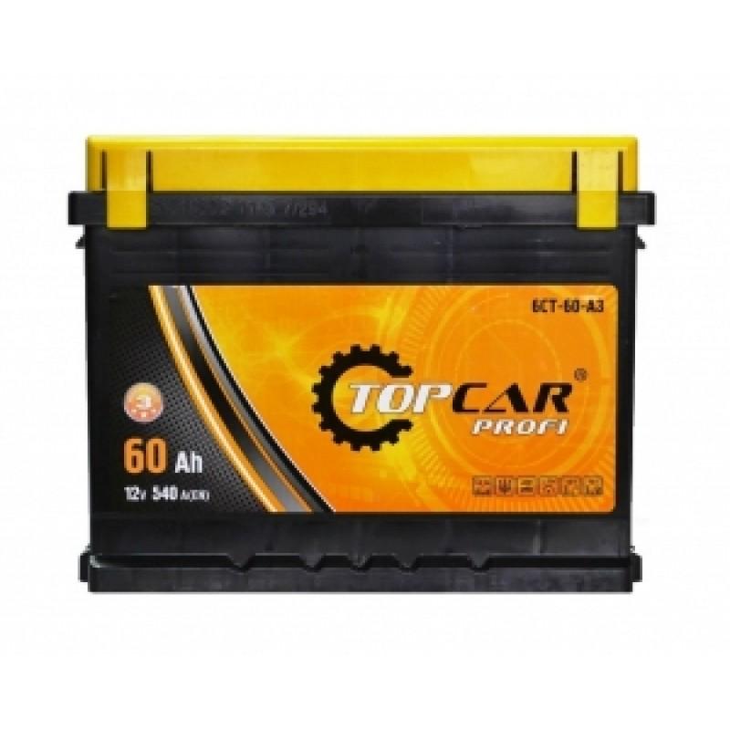 Акумулятор TOP CAR (M3) 60Ah R 540A