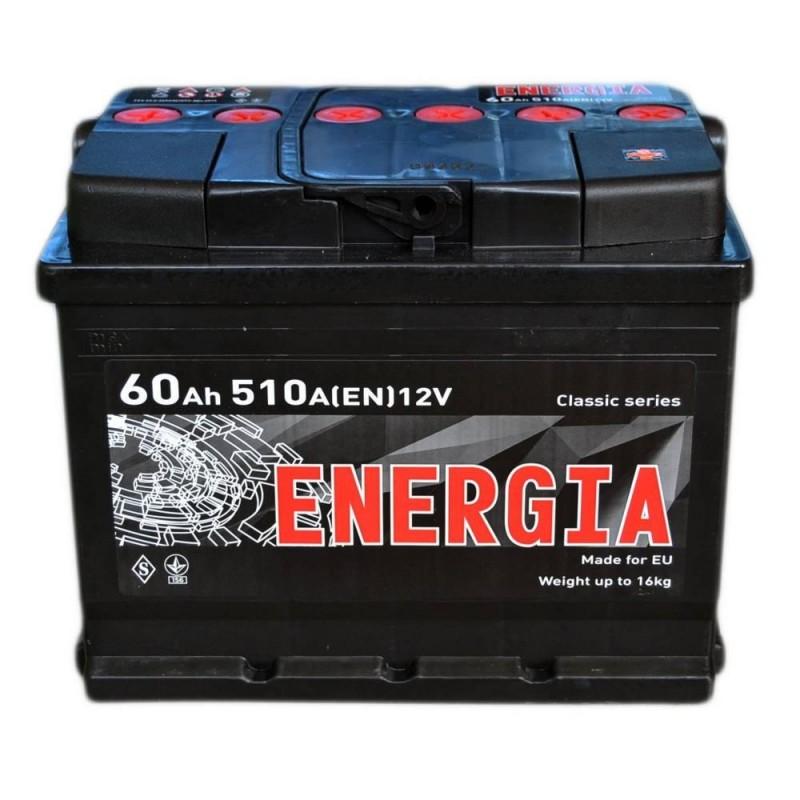 Акумулятор ENERGIA 60Ah L 510A