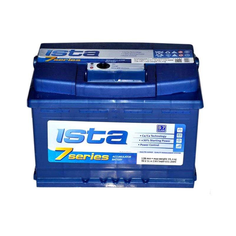 Акумулятор ISTA 7 SERIES 80Ah R 760A