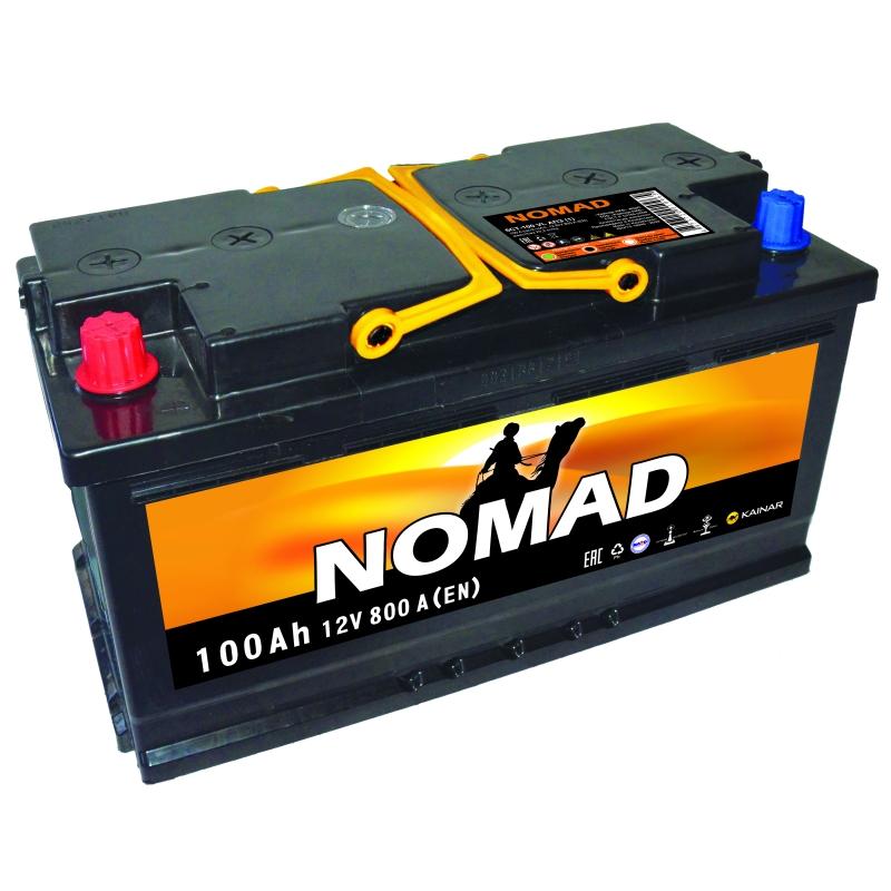 Акумулятор NOMAD PREMIUM 100Ah R 860A