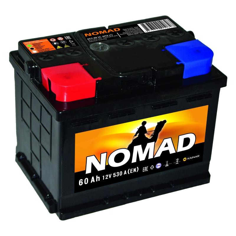 Акумулятор NOMAD 60Ah L 530A
