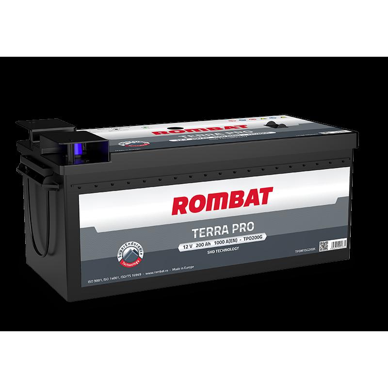 Акумулятор Rombat TERRA PRO 200Ah R 1000A
