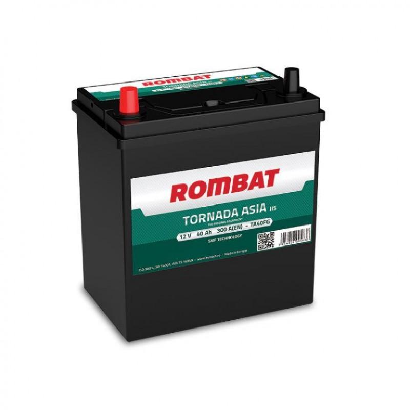 Акумулятор Rombat TORNADA ASIA 40Ah L 300A