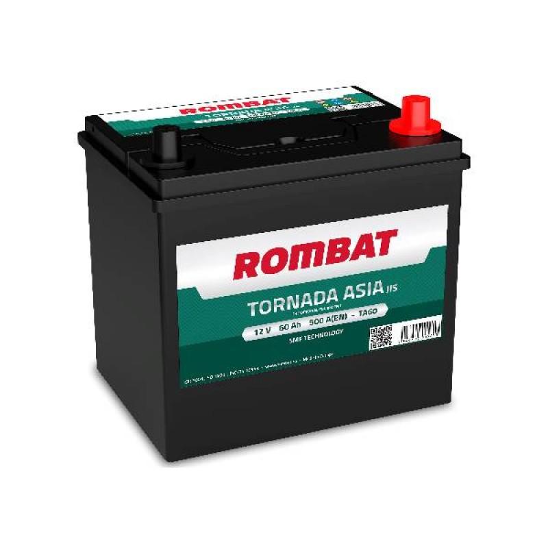 Акумулятор Rombat TORNADA ASIA 60Ah R 500A