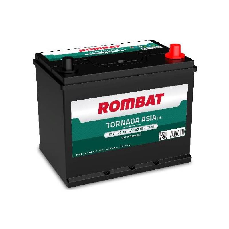 Акумулятор Rombat TORNADA ASIA 75Ah R 610A