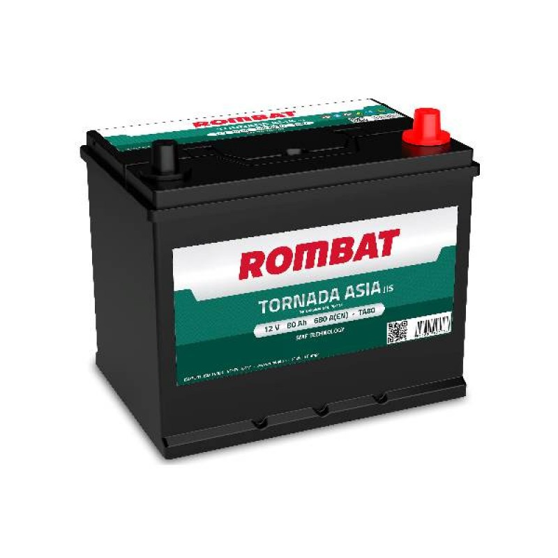 Акумулятор Rombat TORNADA ASIA 80Ah R 680A