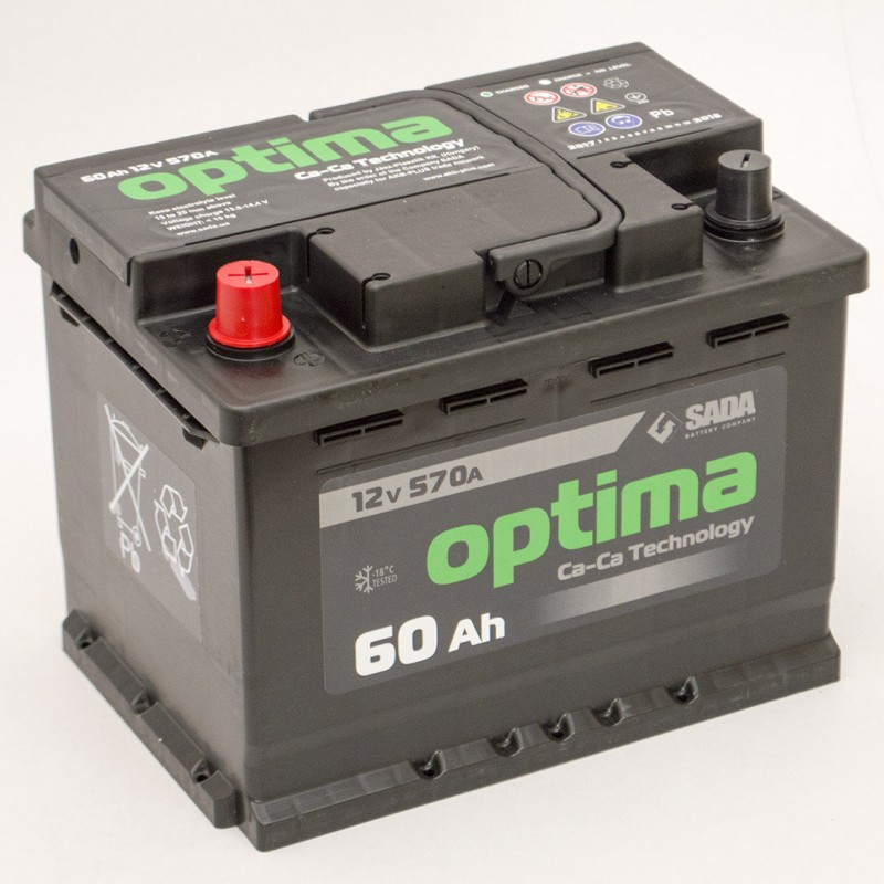 Акумулятор SADA OPTIMA 60Ah L 590A