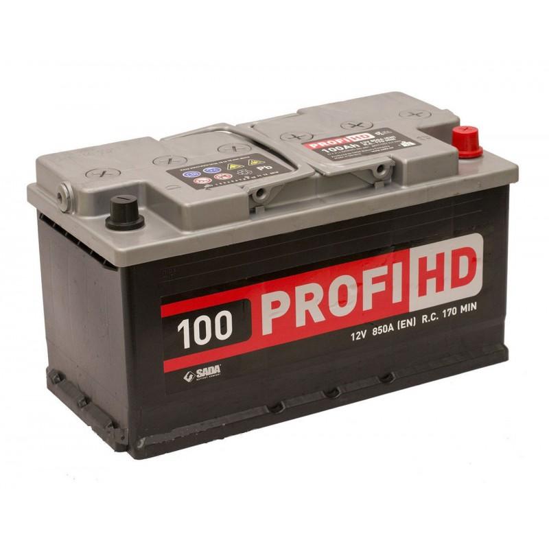 Акумулятор SADA PROFI HD 100Ah R 900A