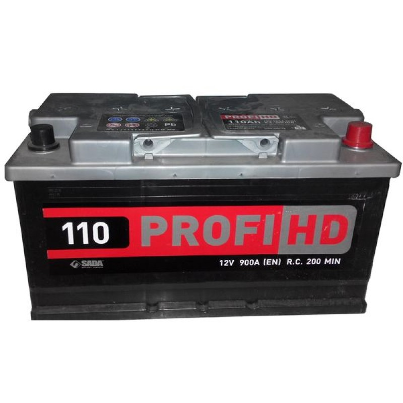 Акумулятор SADA PROFI HD 110Ah R 950A