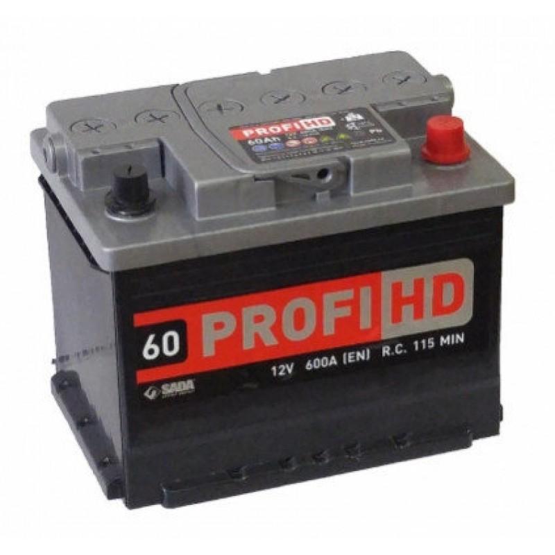 Акумулятор SADA PROFI HD 60Ah L 600A
