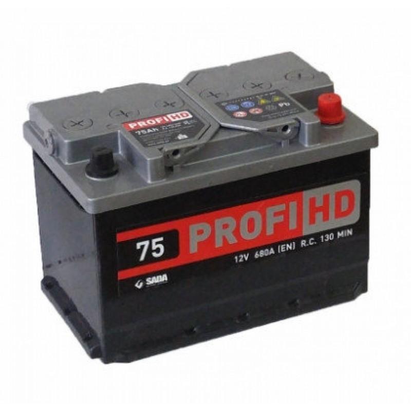 Акумулятор SADA PROFI HD 75Ah R 760A