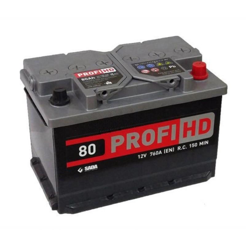 Акумулятор SADA PROFI HD 80Ah R 800A