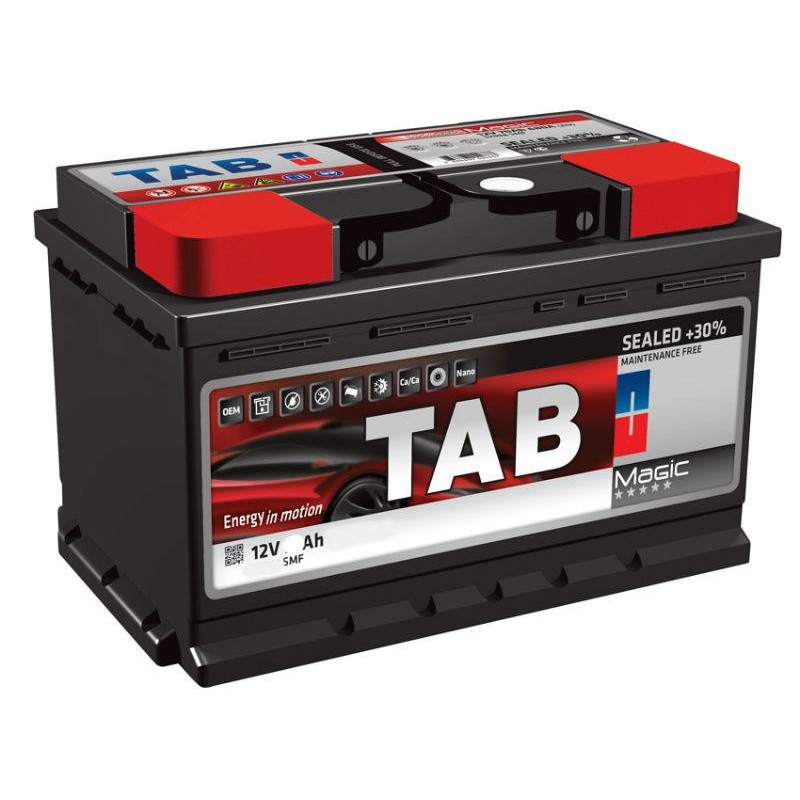 Акумулятор TAB MAGIC 78Ah R 750A